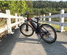 Электрический горный велосипед, 26 дюймов, 21 скорость, 250 Вт, мощный двигатель 36 в 8 Ач, батарея 30 км/ч, городской электровелосипед, велосипед с ...
