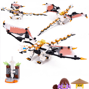 2020 New Ninja Series Skull Sorcerer's Dragon Compatible With Ninjagoes Model Building Blocks Brick Toys Gift For Children 2