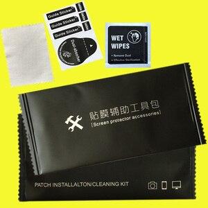 Image 3 - Proteggi schermo in vetro temperato obiettivo della fotocamera schermo del telefono rimozione della polvere salviette per la pulizia a secco e umido Set di strumenti di carta confezione di alcol