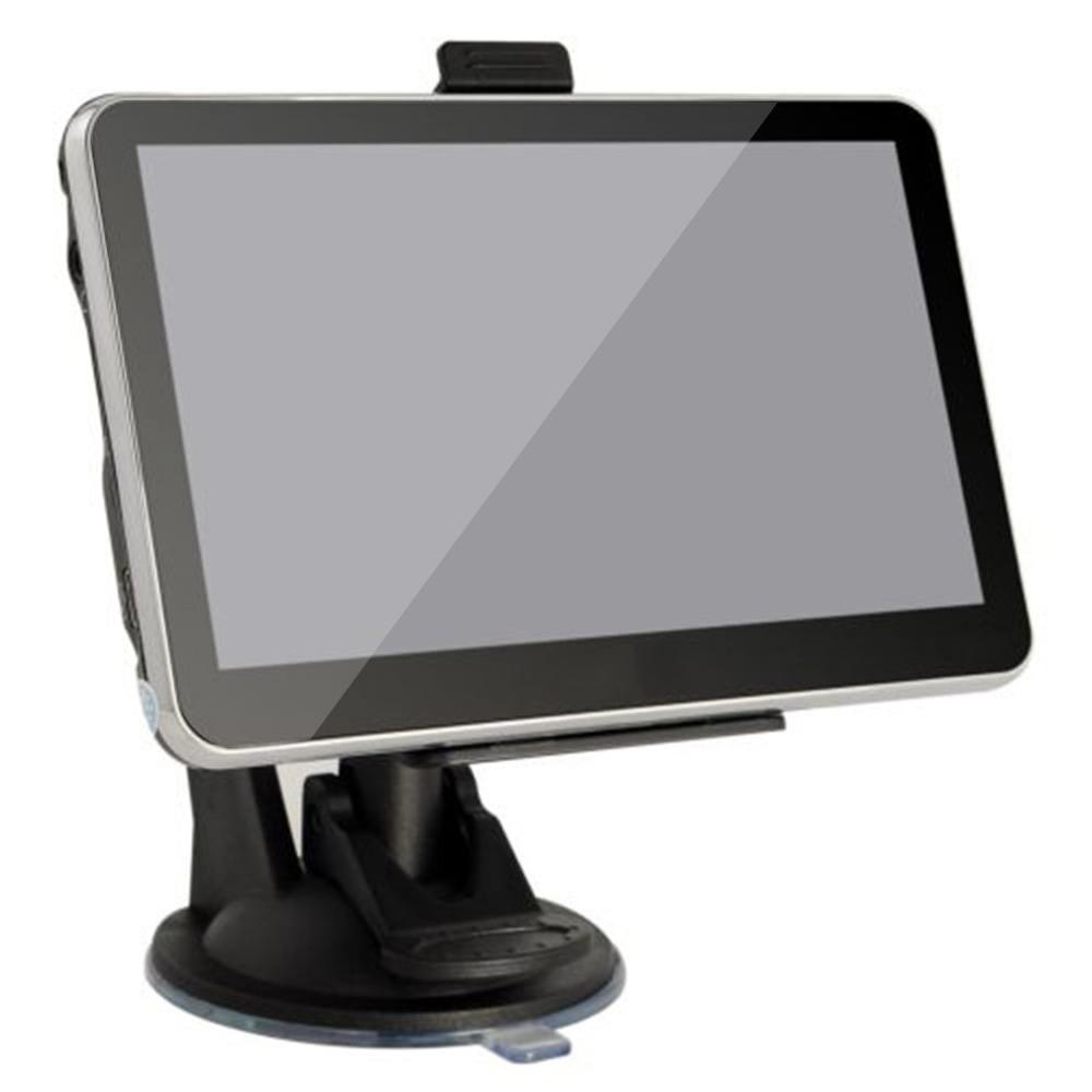 5 zoll 8GB HD Screen GPS Navigation LCD Display GPS Universal Auto Lkw Navigator Tragbare Fahrzeug SAT NAV UNS buchse