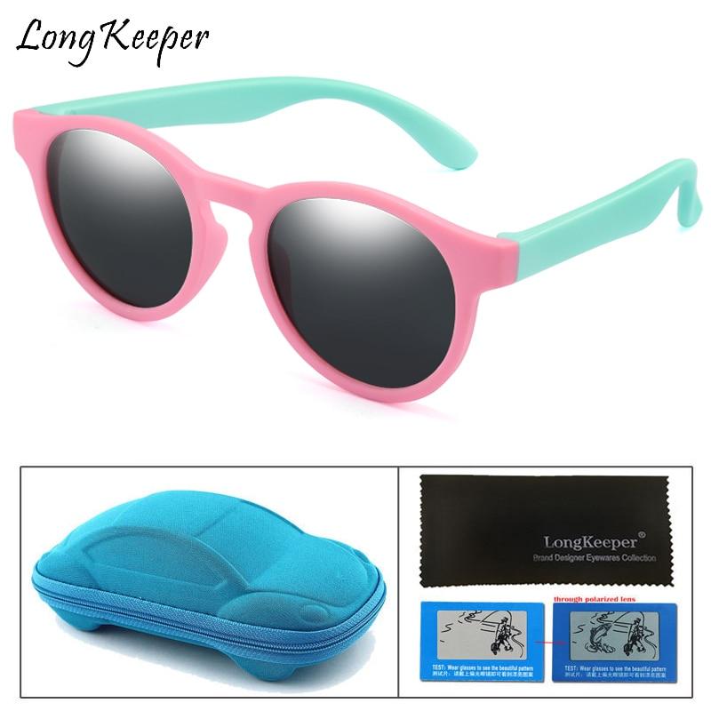 Baseball Hat Cap Boy Girl Glasses UV400 Children Set Kids Polarised Sunglasses