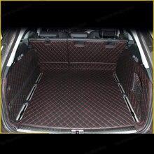 Lsrtw2017 Cuir Tapis De Coffre De Voiture Revêtement De Cargaison pour Audi A6 2011 2012 2013 2014 2015 2016 2017 2018 2019 2020 Allroad Avant C7 c8