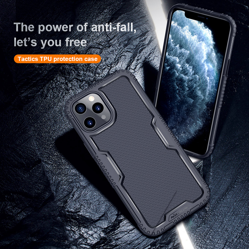 High impact Rugged Shield Tactics TPU Protection Drop resistance Armor Case Cover For iPhone 12 Pro Max 1