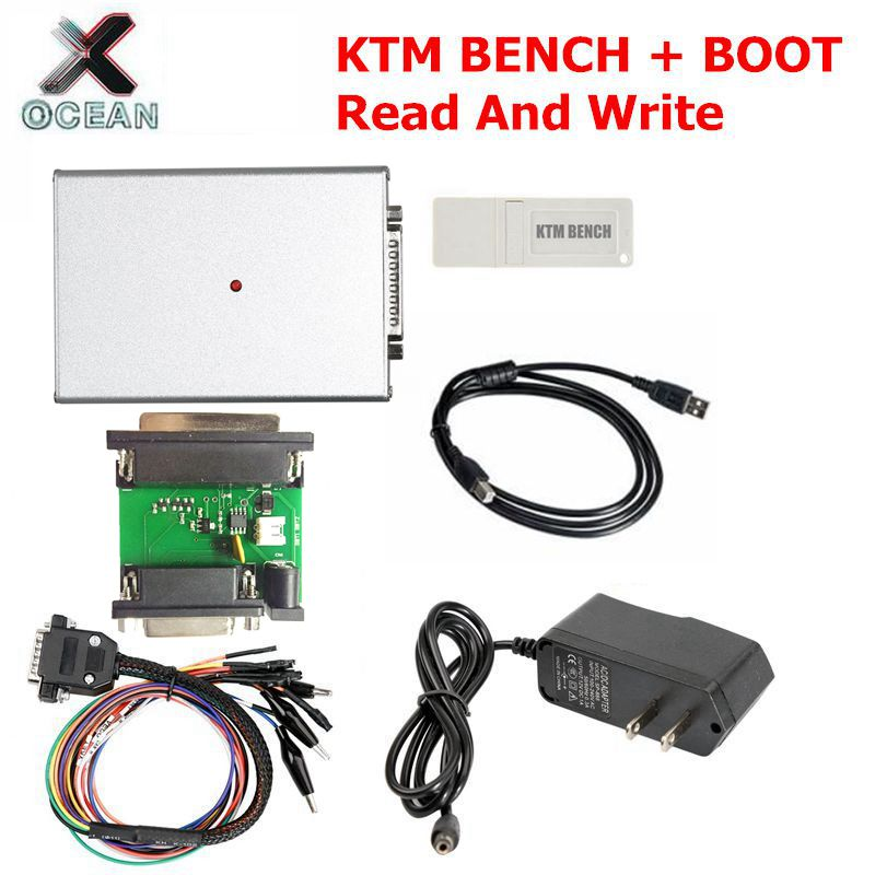 ECU Programmer KTM BENCH Read and Write ECU Via Boot Bench V1.99 KTM-Bench Flash EEPROM for boot+bench