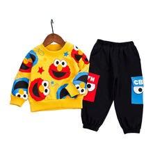 Весенняя повседневная одежда для маленьких мальчиков и девочек
