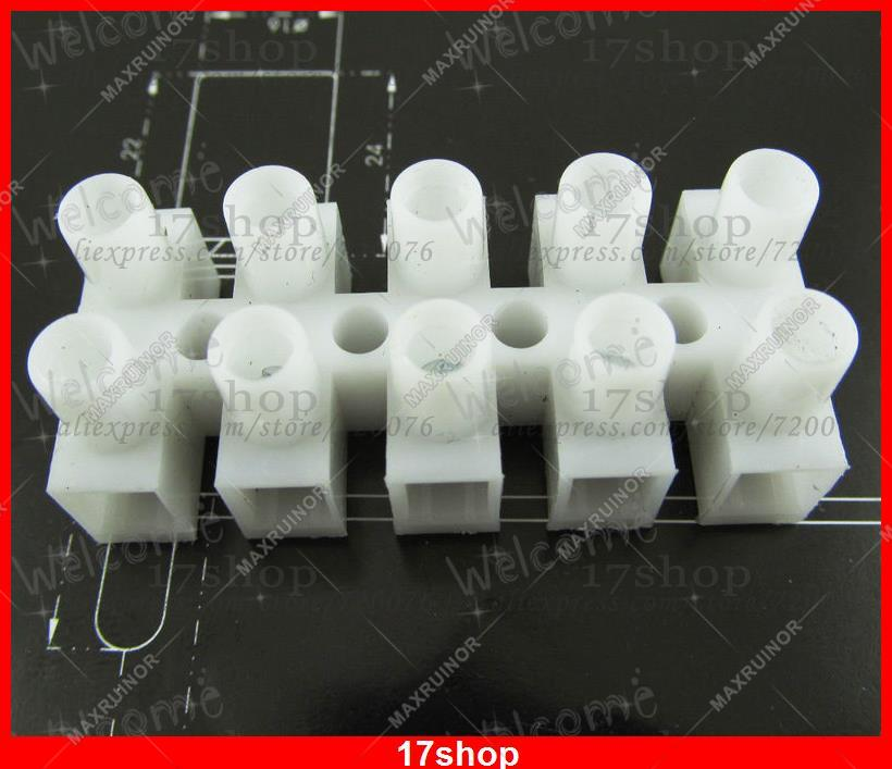 1pc Wire 4 Position Barrier Terminal Strip Block 450V 30A 22-10 AWG