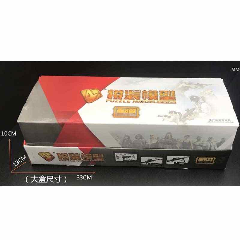 1:6 4D אקדח דגם 4th דור להרכיב פלסטיק דגם עבור 12 inch נשק Minigun שליחות קטלנית Gundam דגם נשק
