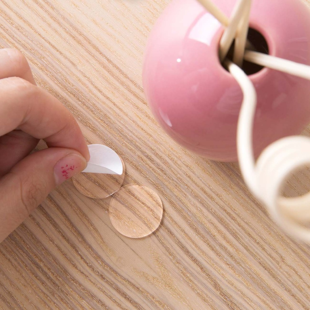 New Hot 70Pcs Circle Double Sided Tape Strong Acrylic Adhesive for 3D Wall Stickers Balloon Festivals Party Household Tools