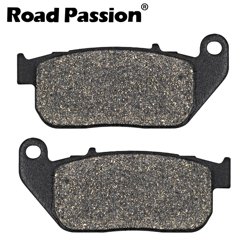 Front Rear Brake Pads For Harley XL 883 R Sportster 2005-2013 Roadster 2010-2013