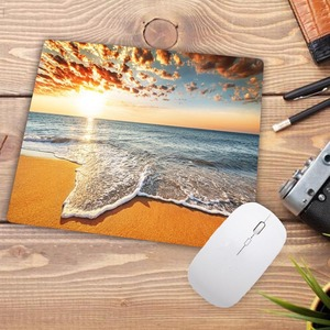 Image 5 - Big Promotion Print Rubber Mousepads for Beach and starfish Mice Mat DIY Design Computer Gaming Mouse Pad 22X18CM