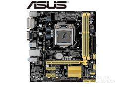 ASUS B85M K oryginalna płyta główna komputera DDR3 LGA 1150 USB2.0 USB3.0 VGA DVI 16GB B85 używane płyty głównej Płyty główne    -