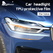 AIRSPEED 2pcs for Volvo XC60 XC90 XC40 V90 V60 S60 S90 Accessories TPU Special Car Headlight Headlamp Protective Film Sticker