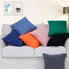 Large corn grain factory wholesale custom jacquard corduroy sofa hug pillowcase cushion cover