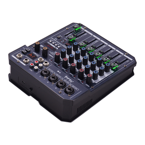 Image 5 - Muslady T6 Portable 6 Channel Sound Card Mixing Console Audio Mixer Built in 48V Phantom power Supports BT Connection DJ Live