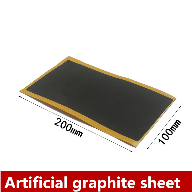 Graphene Stickers For Mobile Phone CPU Motherboard Graphite Film High Thermal Conductivity Graphite Sheet Cooling Artificial Gra