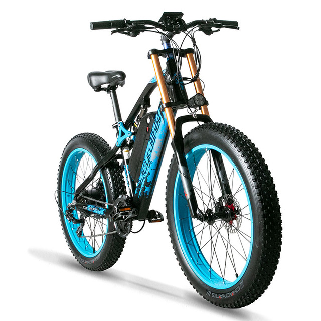 Electric Dire Bikes For Men  Snow Mountain E bike 48V 17Ah battery  Fat Bike Electric Bicycle Motorcycle Style XF900|Electric Bicycle|   -