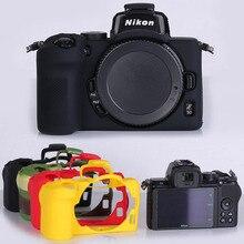 لكاميرا نيكون Z50 لينة سيليكون المطاط حامي الجلد