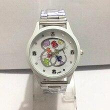 Relogio Feminino 2021 New Fashion Women Часы Luxury Brand Bear Watch Women Men Casual Quartz All Steel Наручные часы Reloj Mujer