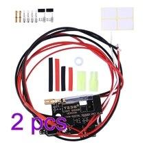 Программируемый электронный модуль управления пожаром T238 MOSFET для XWE M4 / JM Gen.9 / FB / Kublai / Jingji / JQ No.2 коробка передач, 2 шт.