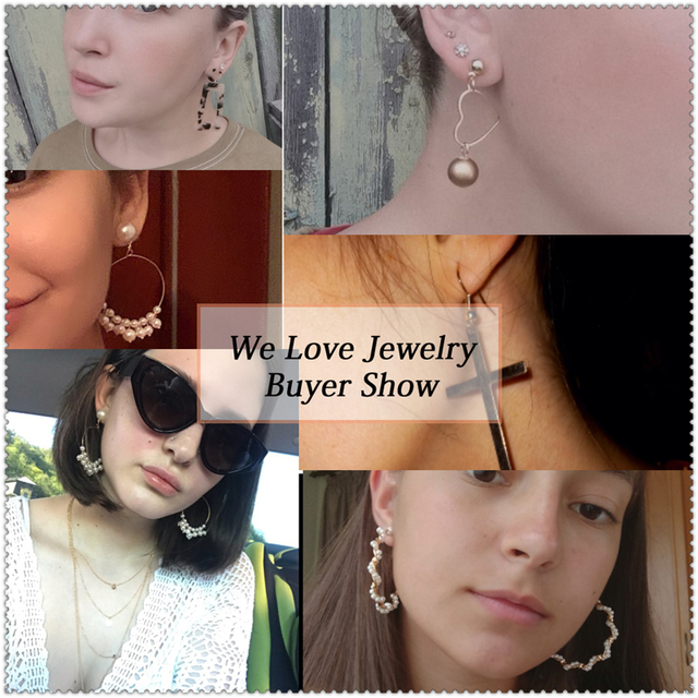 various earring bunches 6