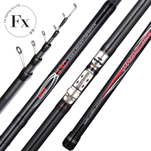 FX 99% Carbon Fiber Fishing Rod Telescopic Spinning Short Se