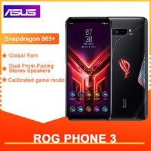 ASUS – Smartphone ROG Phone 3, téléphone portable Gaming, ROM Global, 12 go de RAM, 128/256/512 go de ROM, mise à jour OTA, 6000mAh