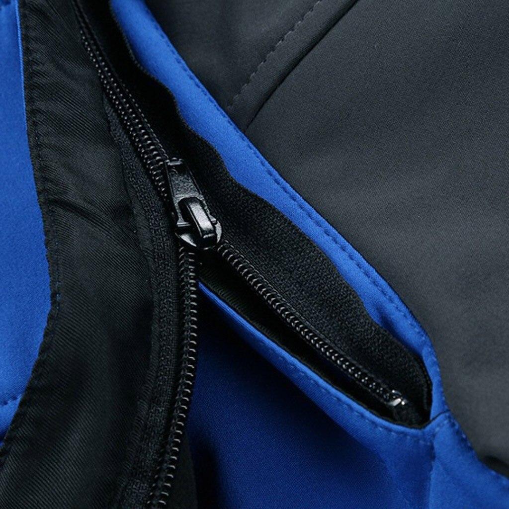 esporte jaqueta de inverno dos homens blusão