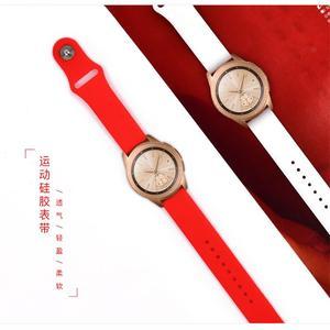 20mm uhr strap Für Samsung Galaxy uhr Aktive 2 46mm 42mm Getriebe S3 huawei watch GT 2 Weichen silikon armband 22mm uhr band 46