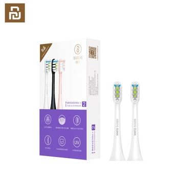 SOOCAS X3 X1 X5 Replacement Toothbrush heads for Xiaomi Mijia SOOCARE X1 X3 sonic electric tooth brush head original nozzle jets