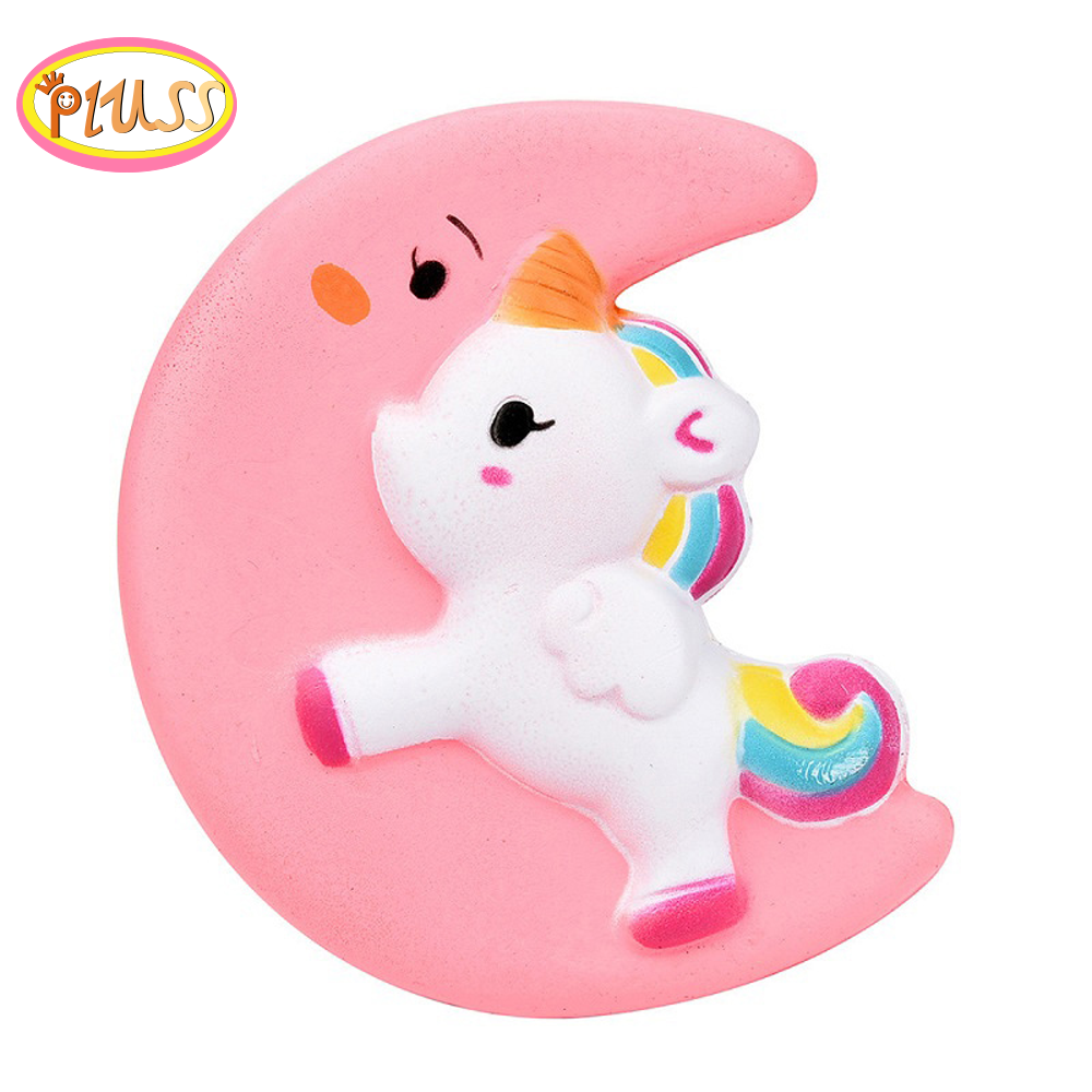 Cute Unicorn Squishy Horse Squeeze Toys Cartoon Doll Squishy Soft Slow Rising Stress Relief Fun Gift Toys For Kids