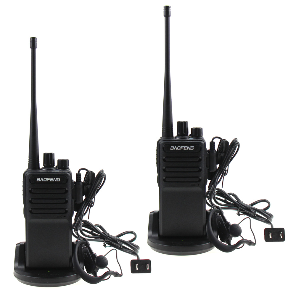 Baofeng BF-C5 Walkie Talkie 8W UHF 400-470MHz Two Way Radio 3800mAh Li-ion Portable Ham CB Radio 16CH FM Transceiver Interphone