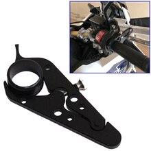Универсальный черный Мотоцикл с ЧПУ круиз контроль замок для регулятора газа Assist фиксатор сцепление полезные аксессуары для мотоциклов