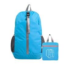Men Women Bag Zipper Climbing Outdoor Large Capacity Packable Hiking Backpack Waterproof Shopping Travel Lightweight Foldable
