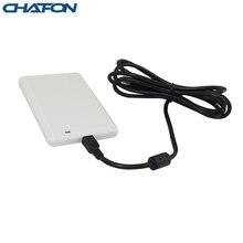 Chafon lecteur de cartes rfid usb de bureau, support de protocole ISO18000 6B/6C, carte déchantillon gratuite pour contrôle daccès