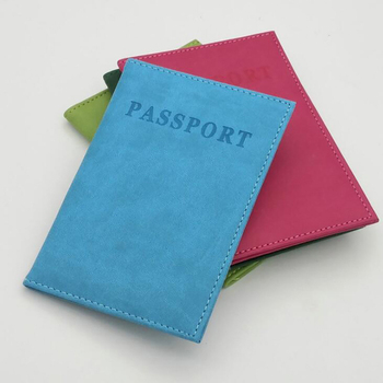 Solid Style Passport Cover Waterproof Holder Travel Case High Quality Packet