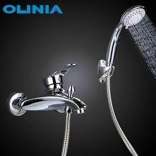 Olinia bathtub faucet bathroom shower faucet bathroom shower set bath mixer bath shower mixer shower Shower Faucet Set OL8092