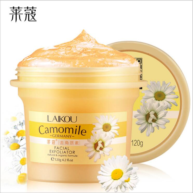 Facial Exfoliator Camomile Germany Face Cream Whitening Gel Skin Care Moisturize Cleanser Vitamin Collagen Exfoliating