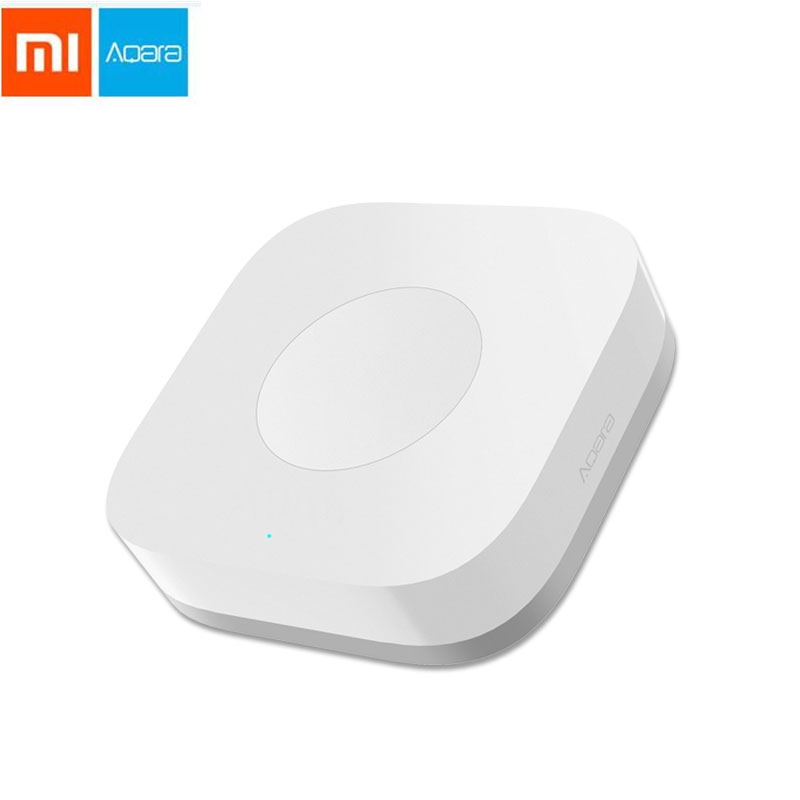 Xiaomi Mijia Aqara Smart Wireless Switch Key Intelligent Application Remote Control ZigBee Wireless Biult In Gyro For Home App
