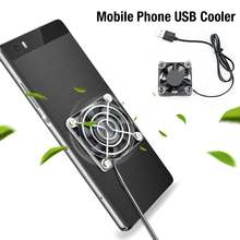 2020 new universal mobile phone usb cooler cooling fan gamepad