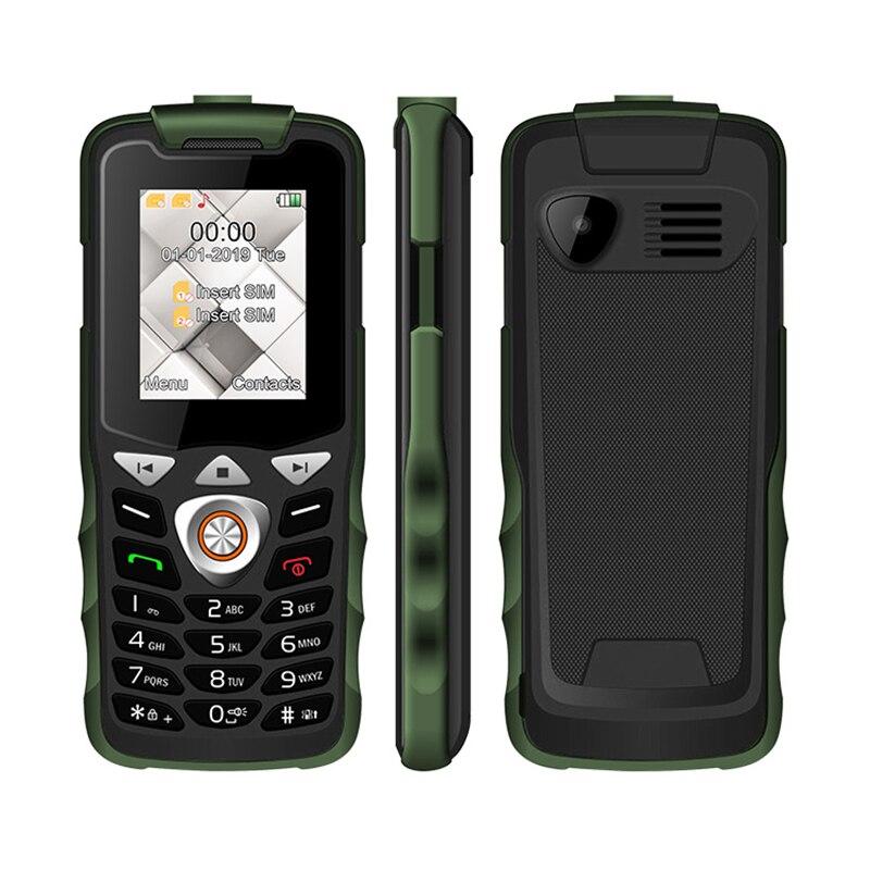 Unlocked 2G GSM Push Button Key Cellphone Feature Mobile Phone  Led Flashlight Dual SIM Card Senior Kids Mini Phone UNIWA W2026