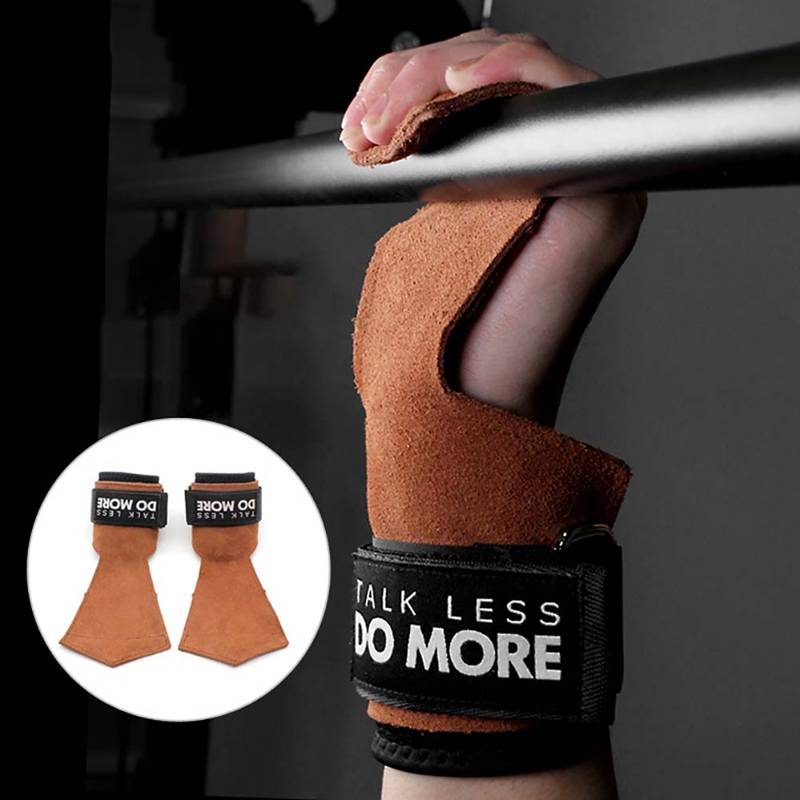 Gym Fitness Palm Support Anti slip Exercise Hand Grips Pad Wrist Protector Wrap Strap Gloves Gym Dead Lift Training Accessories in Wrist Support from Sports Entertainment
