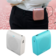Portable Insert Microphone Wireless Voice Amplifier Teacher Microphone Speaker Loudspeaker Support TF Card FM Radio
