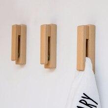 Креативный практичный Европейский стиль твердый деревянный крючок для полотенец штамповка полотенце настенная вешалка с крючком держатель принадлежности для ванной комнаты
