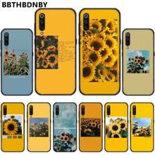 Flower Sunflower Rose Bling Cute Phone Case bumper For Xiaomi Redmi 4x 5 plus 6A 7 7A 8 mi8 8lite 9 note 4 5 7 8 pro fractions bumper book ages 5 7