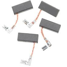 Brosses en carbone pour perceuse à percussion électrique, 4 pièces