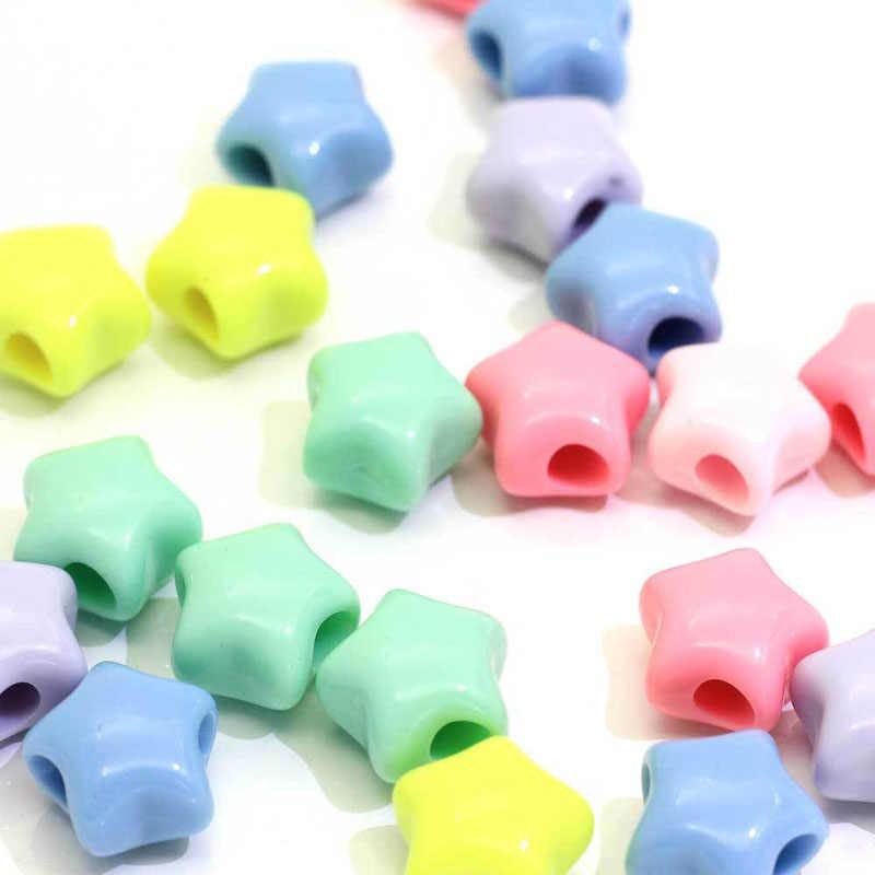 50 Cái/lốc Mới Giá Rẻ Nóng Nhiều Màu Sắc Hình Bầu Dục Acrylic Hạt Phù Hợp Với Vòng Tay Dây Làm Vòng Tay Trang Sức Làm Sỉ