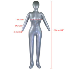 perruque femme Inflatable Mannequin Model Torso PVC Underwear Display Female Full Body 168cm mannequin full body female цена