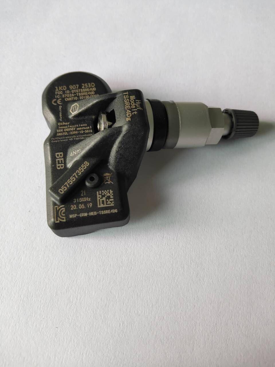 TPMS Tire Pressure Sensor 1K0907253D 315 MHz For Volkswagen VW Tiguan 2009/01-2011/12 Tire Pressure Monitor System 1K0907253D