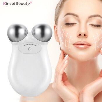 Face Lift Microcurrent Roller Massager Facial Massager Slimming Massage Facial Microcurrent Device Massage Face Lifting Machine