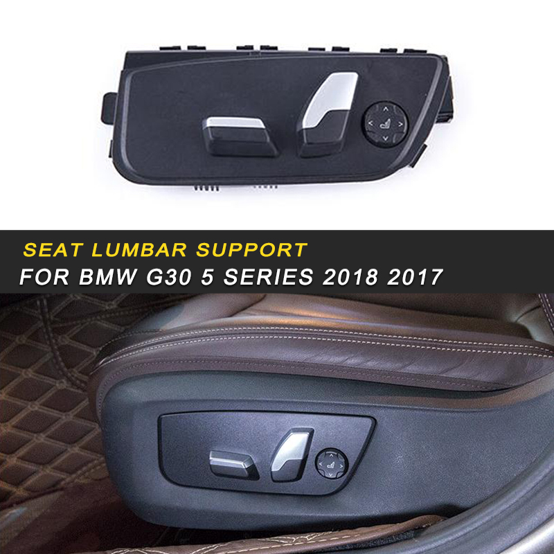 Seat Adjustment Button Switch Panel Assembly Interior Parts For BMW G30 5 Series 2018 2017 Auto Car Styling